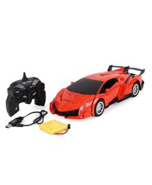 Dr. Toy Remote Control Car Cum Robot - Orange