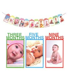 5f96be1c96a Party Propz Baby Photo Banner - Multicolour