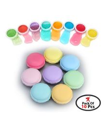 Party Propz Macaroon DIY Slime Jelly Kit Multicolour - 10 Pieces