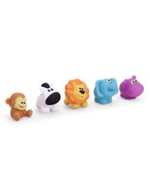 Winfun Safari Animal Bath Toys Pack of 5 - Multicolour