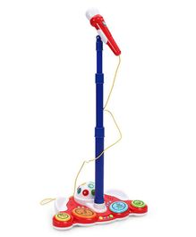 Winfun Sing N Jam Platform With Microphone - Blue & Red