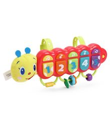 Winfun Light Up Musical Caterpillar Toy - Multicolour