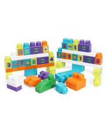 Fisher Price Mega Bloks Stack & Learn Math Multi Colour - 80 Pieces