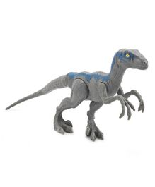 Jurassic World Basic Velociraptor - Blue & Grey