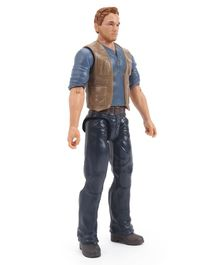 Jurassic World Owen Figure Blue - Height 28.5 cm