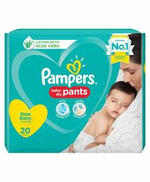 Pampers Pant Style Diapers Extra Small - 20 Pieces