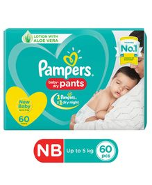 Pampers Pant Style Diapers Extra Small Size - 60 Pieces