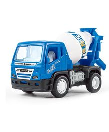 Pull Back Construction Toy Truck - Blue