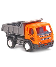 Pull Back Construction Toy Truck - Orange