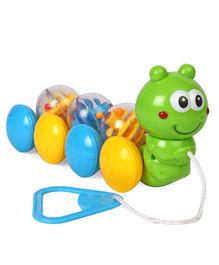 Pull Along Caterpillar Toy - Multicolour