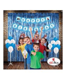 Party Propz Frozen Birthday Party Multi Colour - 48 Pieces