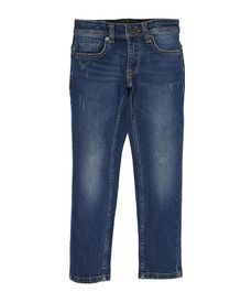 Indian Terrain Full Length Denim Jeans With Pockets - Blue