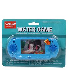 Wild Republic Hand-Held Water Game Wolf - Blue