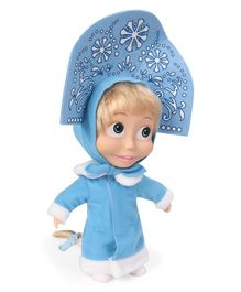 Masha and the Bear Baby Doll Blue - Height 23 cm