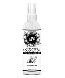 AromaMusk Organic Pure Cold Pressed Extra Virgin Coconut Oil For Hair And Skin - 100 ml
