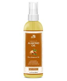 AromaMusk Pure Cold Pressed Sweet Almond Oil - 100 ml