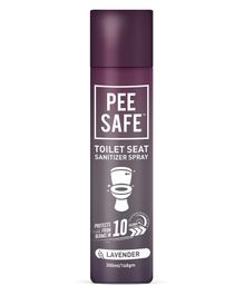 Pee Safe Toilet Seat Sanitizer Lavender Spray - 300 ml