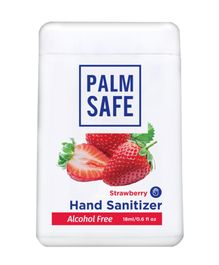 Palm Safe Alcohol Free Hand Sanitizer Pocket Spray Strawberry - 18 ml