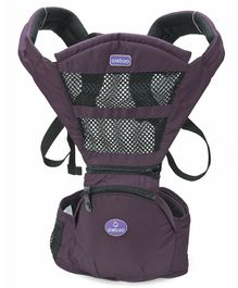 Baby Carrier With Padded Straps - Violet
