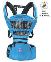 Baby Carrier With Padded Straps - Light Blue