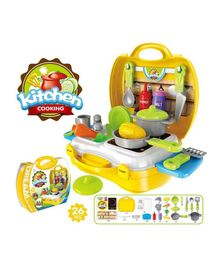 Abhiyantt Kitchen Play Set Multicolour - Pack of 26 Pieces