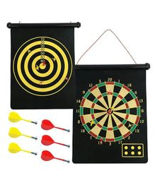 Abhiyantt Dual Sided Magnetic Dart Game - Multicolour