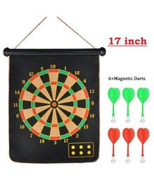 Abhiyantt Foldable Magnetic Dart Game Multicolour - Pack of 7