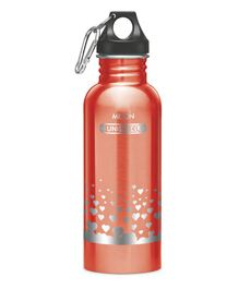 Milton Alive Stainless Steel Fridge Water Bottle Red - 750 ml