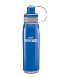 Milton Bravo Thermosteel Double Wall Insulated Sports Water Bottle Blue - 500 ml