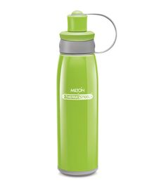 Milton Bravo Thermosteel Double Wall Insulated Sports Water Bottle Green - 500 ml
