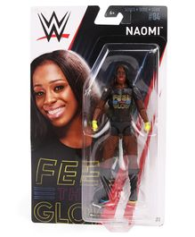 WWE Action Figure Naomi Black - Height 16 cm