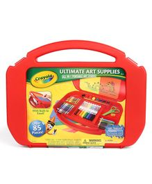Crayola Ultimate Art Supply Case - Red