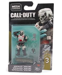 Fisher Price Mega Bloks Call of Duty Spectre Black & white - 20 Pieces