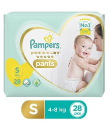 Pampers Premium Care Pant Style Diapers Small - 28 Pieces