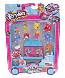Shopkins Pretend Play Pack of 12 - Multi Colour