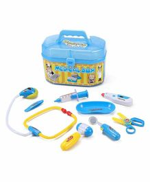 Planet Of Toys Doctor Set With Accessories Blue - 8 pieces
