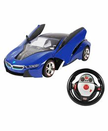 Planet of Toys Remote Control Racing Car - Blue