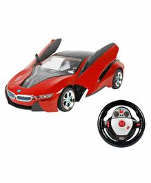 Planet of Toys Remote Control Racing Car - Red