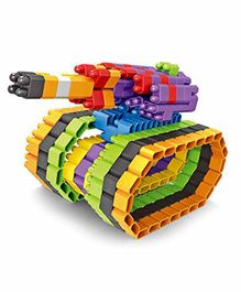 Planet of Toys Bullet Blocks Multicolour - 240 Pieces