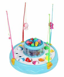 Planet of Toys Electric Fishing Game - Blue