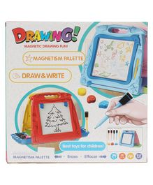 Planet of Toys Writing & Drawing Magnetism Palette Board - Blue