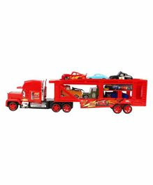 Planet of Toys Remote Control Trailer Truck - Red