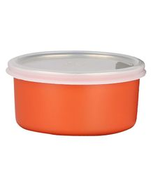 Falcon Dual Walled Stainless Steel Container - Orange