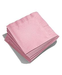 Party Anthem Paper Napkin - Light Pink