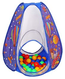 Playhood Ball Pool With 20 Balls Space Print - Blue