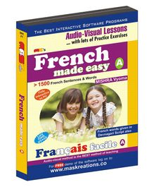 French Made Easy A CD- English Hindi French