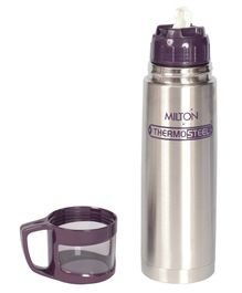 Milton Thermosteel Flask With Cup Purple - 500 ml