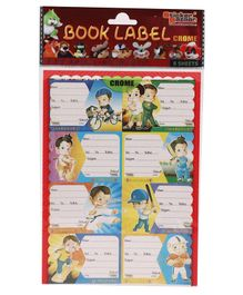 Hanuman Book Labels - 8 Sheets