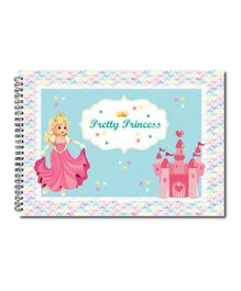 Little Jamun Sketch Book Princess Print - Multicolour