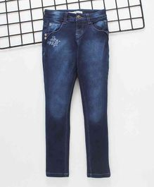 Gini & Jony Jeans With Adjustable Waist - Blue